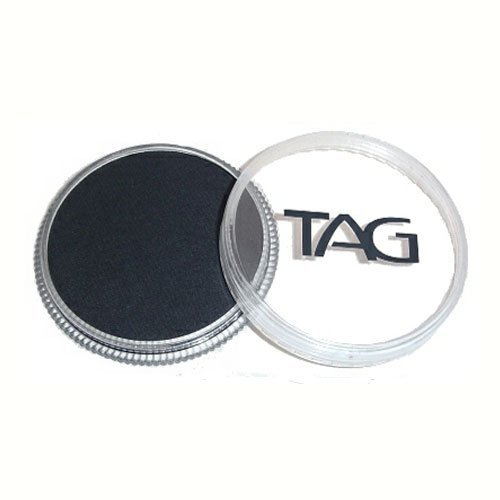 TAG Face Paints - Black (32 gm) by TAG Body Art -