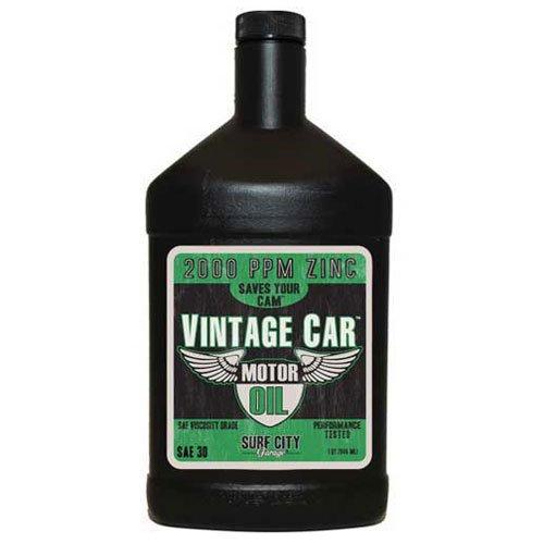 Surf City Garage 518 Vintage Car Motor Oil SAE30, Quart Bottle, 6/Case - Lot of 6