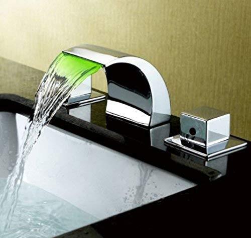 5 Oudan Basin Mixer Tap Bathroom Sink Faucet Basin faucet 3-Piece 6 (color   8)
