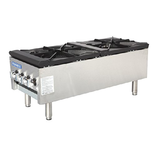 Turbo Air (TASP-18S-D) - 2 Burner Stock Pot Range