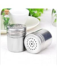 Win 3pcs/lot Stainless Steel Seasoning Cans Metal Caster Kitchen Monosodium Glutamate Tank Outdoor Barbecue Pepper... compare