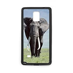 CASE DIY Design Cute Wild Elephant Animal Pattern Phone Samsung Galxy S4 I9500/I9502