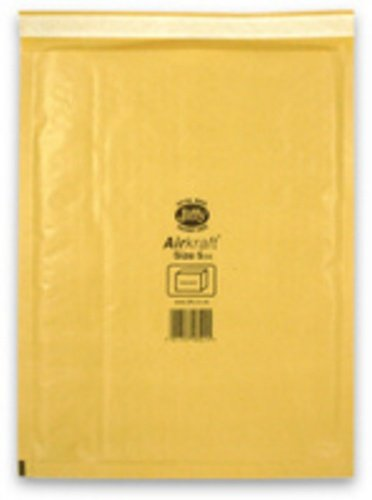 Jiffy MMUL04605 Size 5 Airkraft Bag - Gold (Pack of 10) Ambassador Packaging Limited