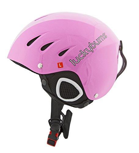 Lucky Bums Snow Sport Helmet, Pink, Small