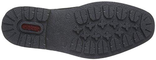 Rieker F1311, Botines para Hombre Gris (granit/schwarz/schwarz / 46)