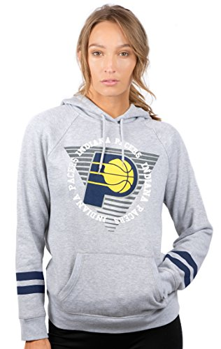 NBA Indiana Pacers Women's Fleece Hoodie Pullover Sweatshirt for sale  Delivered anywhere in USA