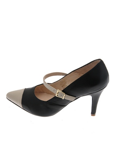 Pascal Zapatos Janice Morabito Negro Beige OvOBq0T