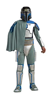Star Wars Deluxe Pre Vizsla Costume Black Standard by Rubie?s Costume Co