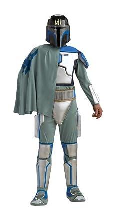 Rubies Disfraz de Pre Vizsla Star Wars Deluxe Adulto: Amazon ...