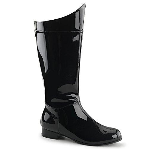 Funtasma Hero 100 Mens Pumps Shoes, Blk Pat, Size - S (Mens Renaissance Boots)
