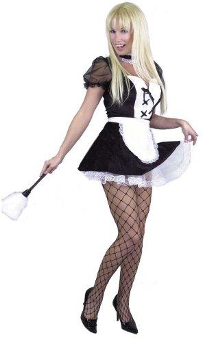 Chamber Maid Costume - X-Small - Dress Size 3-5 ()
