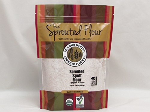 5lb. Organic, Sprouted Spelt Flour