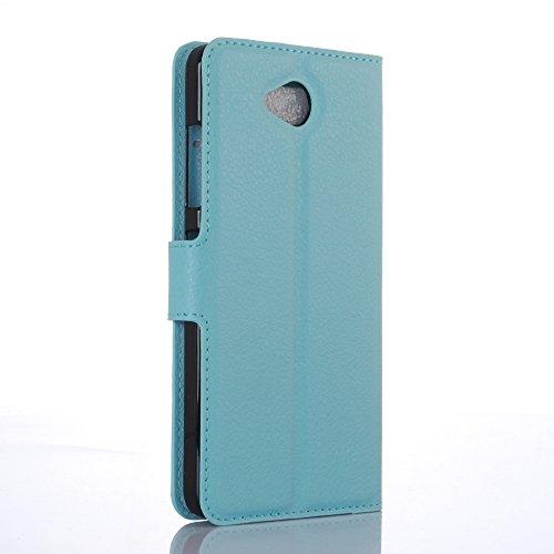 Funda Microsoft Nokia lumia 650,Manyip Caja del teléfono del cuero,Protector de Pantalla de Slim Case Estilo Billetera con Ranuras para Tarjetas, Soporte Plegable, Cierre Magnético(JFC7-5) C