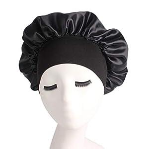 AOTUO Bonnet de Couchage Couvre-Chef Bandeau très élastique à Haut Rebord avec Bonnet de Nuit ms. Chapeau de chimiothérapie Douche Chapeau de Soins capillaires (B#) 32