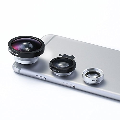 Universal 0.4X Super Wide Angle Mobile Phone Lens for Mobile Phones - 8