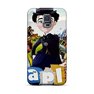 AlainTanielian Samsung Galaxy S5 Protective Cell-phone Hard Covers Unique Design HD Madagascar 3 Pictures [XyC8403BNPm]