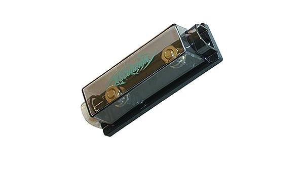 XScorpion ANL1010P Platinum ANL Inline Fuse Holder with 0//2//4 Gauge Input /& Output Silver