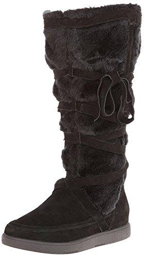 Report Signature Women's Lorrian Snow Boot, Black, 6.5 M US - Report Faux Fur Boot