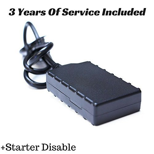 (3G Vehicle Tracker With Starter Disable & 3 Years Of Service (No Monthly)
