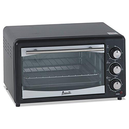 Avanti PO61BA Countertop Oven/Broiler, 0.6 cu. ft, Black by Avanti