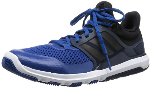 adidas Adipure 360.3 Mens Running Trainers Sneakers (UK 12 US 12.5 EU 47 1/3, Black White Blue AF5464)