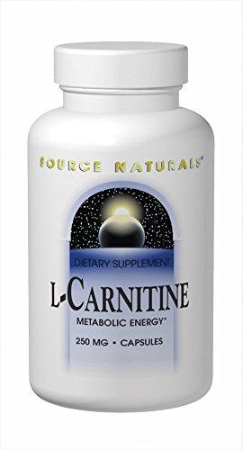 L Carnitine Source Naturals, Inc. 60 Caps by Source Naturals
