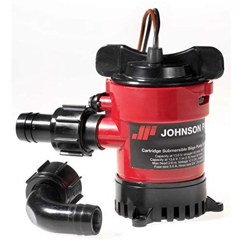 Johnson Pumps of America 32702 Marine 750 GPH Cartridge Bilge Pump