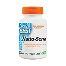 Doctor's Best Natto-Serra Nutritional Supplement, 90 Count