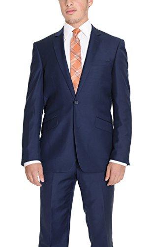 Mens 140's Wool Suit - 3