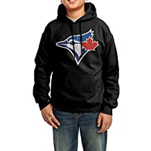 Boys Toronto Blue Jays 1 Hoodie Black
