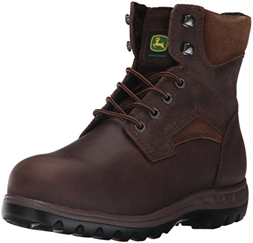 John Deere Womens JD3594 Ankle Boot Brown