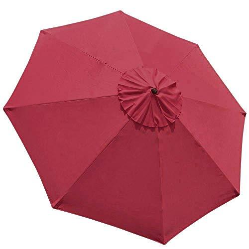EliteShade 9ft Patio Umbrella Market Table Outdoor Deck Umbrella Replacement Canopy ()