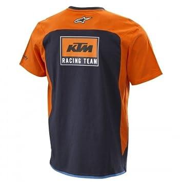 Original KTM Réplica Team té - Camiseta para Hombre Talla XL: Amazon.es: Coche y moto