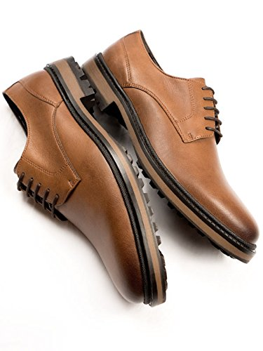 Will's Vegan Shoes Continental Derbys Tan-UK 9/EU 43/US 10