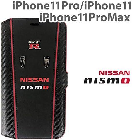 エアージェイ ニスモ nismo 公式ライセンス品 iPhone11 Pro Max アイフォン11プロマックス 本革 手帳型ケース (iPhone11ProMax) NM-P19L-B3