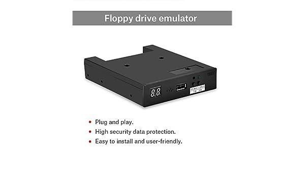 Tonysa Emulador SSD USB SFR1M44-U100K-R, Emulador Floppy 3.5 Pulgadas con Dispositivo USB FAT32 Puerto USB | Plug and Play con Disquete 1.44 MB para Teclado ...