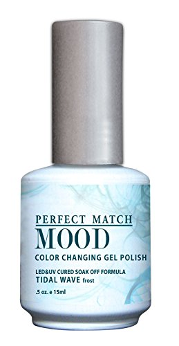 LECHAT Perfect Match Mood Gel Polish, Tidal Wave, 0.500 Ounc