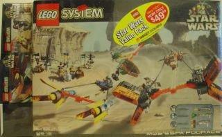 LEGO Star Wars Value Pack: 7171 Mos Espa Podrace + 7101 Lightsaber Duel + 7111 Droid Fighter (Star Wars Lego Set 7171)