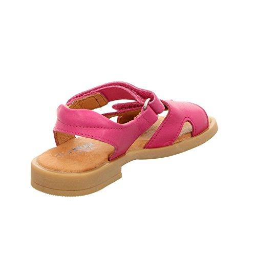 Richter Kinder Sandaletten pink Leder Klett Mädchen Schuhe 5402-141-3500 fuchsia Barbara Fuchsia