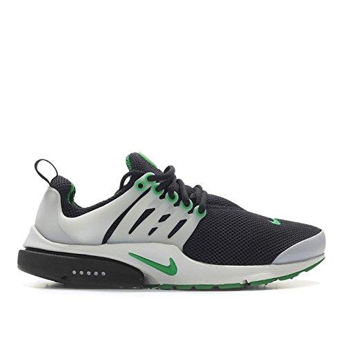 nike air presto essential mens running trainers 848187 sneakers shoes (12 M US, black pine green neutral grey 003)