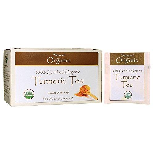 Swanson Turmeric Tea 20 Bag