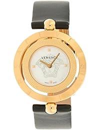 Women's Eon Analog Display Quartz Black Watch, Model: V79050014
