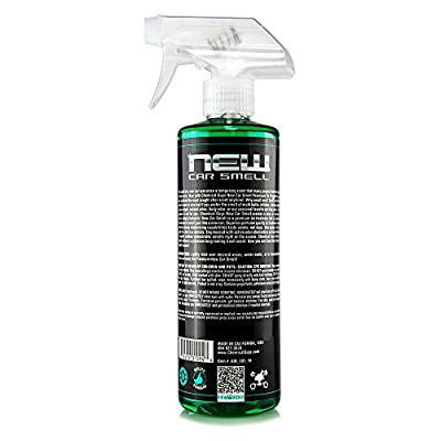 Chemical Guys AIR_101_16 New Car Smell Premium Air Freshener and Odor Eliminator (16 Oz): Automotive