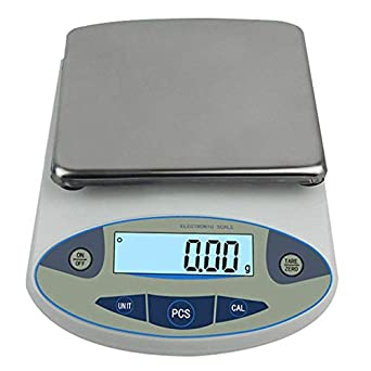 c67dfeaec7dc CGOLDENWALL 5000g,0.01g Analytical Balance Electronic High Precision Lab  Digital Balance Jewelry Scales Gold Clark Scales Kitchen Precision Weighing  ...