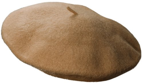 Dorfman Pacific Women's Wool Beret, Camel, One Size