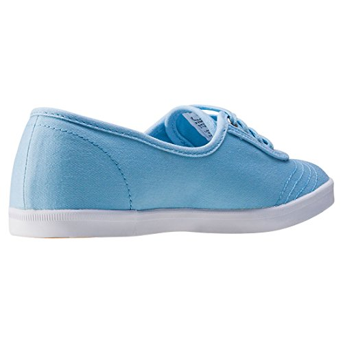 Fred Perry Aubrey Dames Trainers Sky Blue