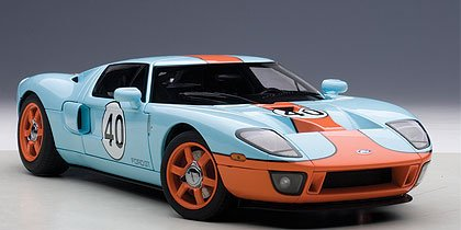 Autoart   Ford Gt Gulf Color