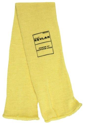 (MCR Safety 9378P Kevlar Economy Single Ply Men?s Sleeve, Yellow, Large, 18-Inch)