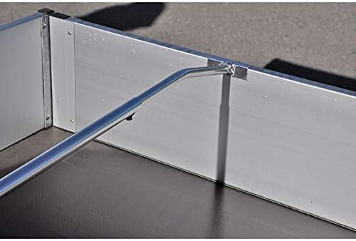 Mb M 904301 Bügel Für Anhänger Plane Aluminium Verstellbar Von 1400mm Auf 2100mm Auto