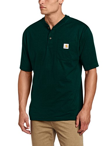 Carhartt Men's Shortsleeve Workwear Henley T-Shirt K84,   Hu